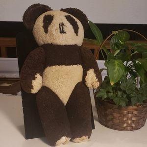 Vintage stuffed Jointed Panda Bear